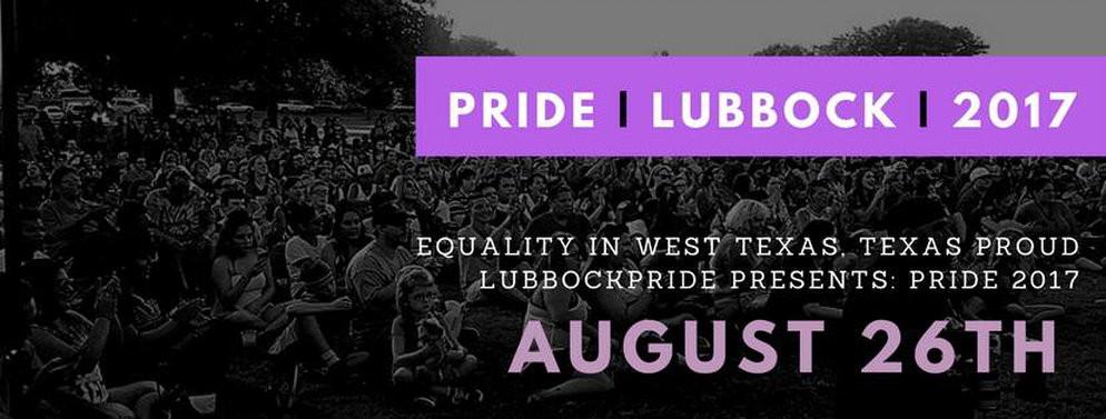 Lubbock Pride Announcement