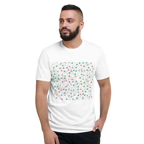 Ice Cream t shirt in white front view