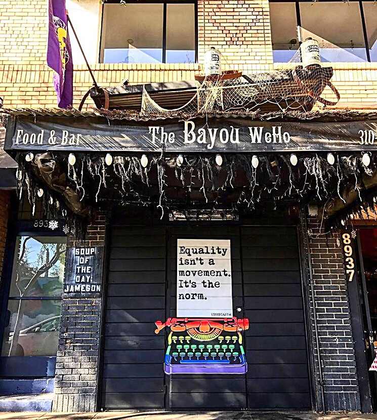 The Bayou brings a little bit of New Orleans to West Hollywood