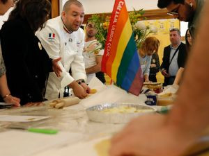 Gay Israeli Jews & Muslims Receive Cooking Class from French Chef
