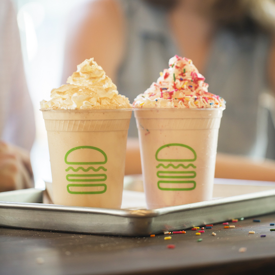 Shake Shack Shakes Will & Grace