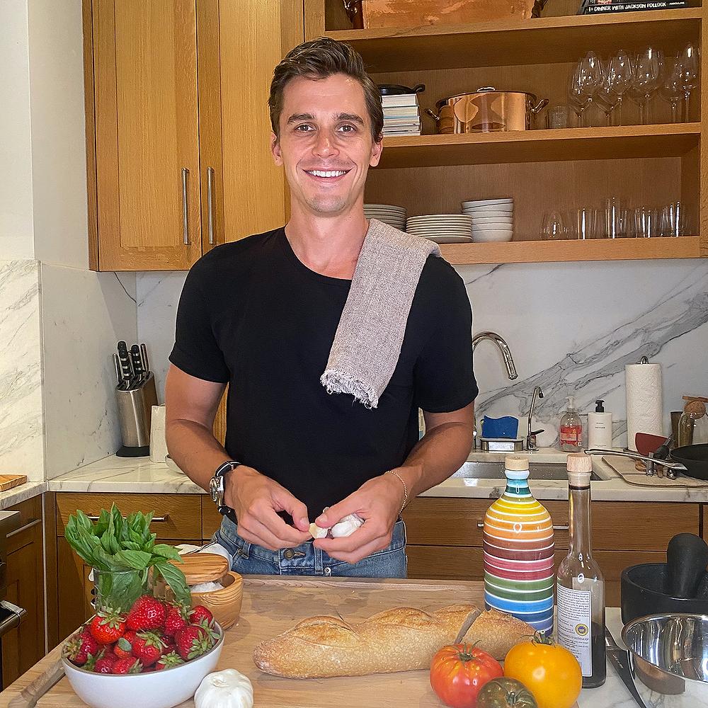 Antoni Porowski in the kitchen