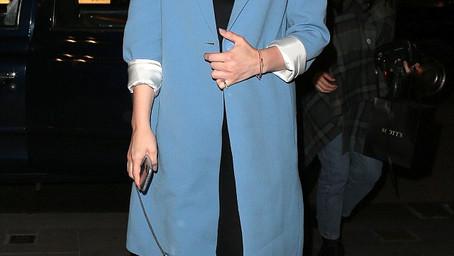 Chloe Grace Moretz Enjoying Dinner at Scott's in Mayfair