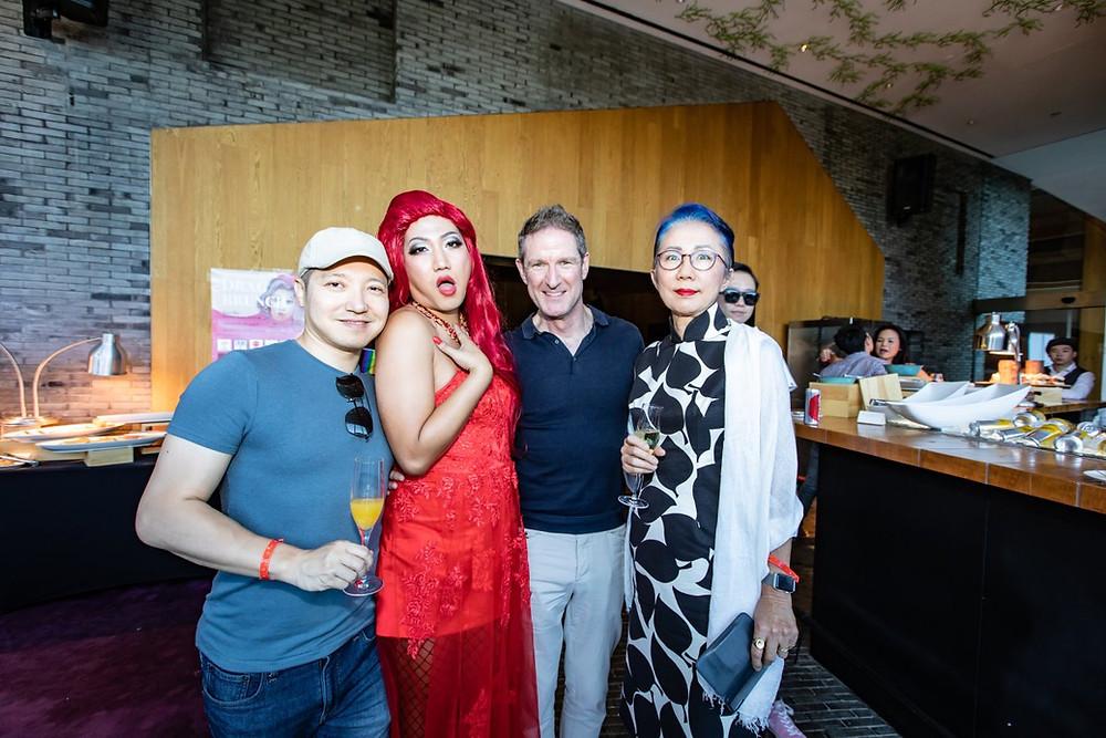 Beijing's first Drag Brunch