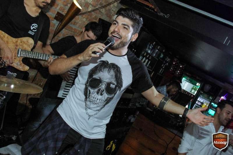 Singer at Boteco do Massay gay bar