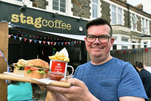 Gay café owner launches a LGBT sandwich & proceeds will go to charity