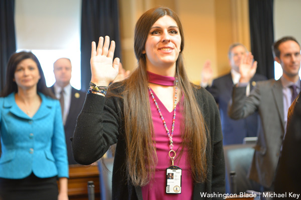 State Del. Danica Roem (D-Manassas) sworn in as member of the Virginia House of Delegates