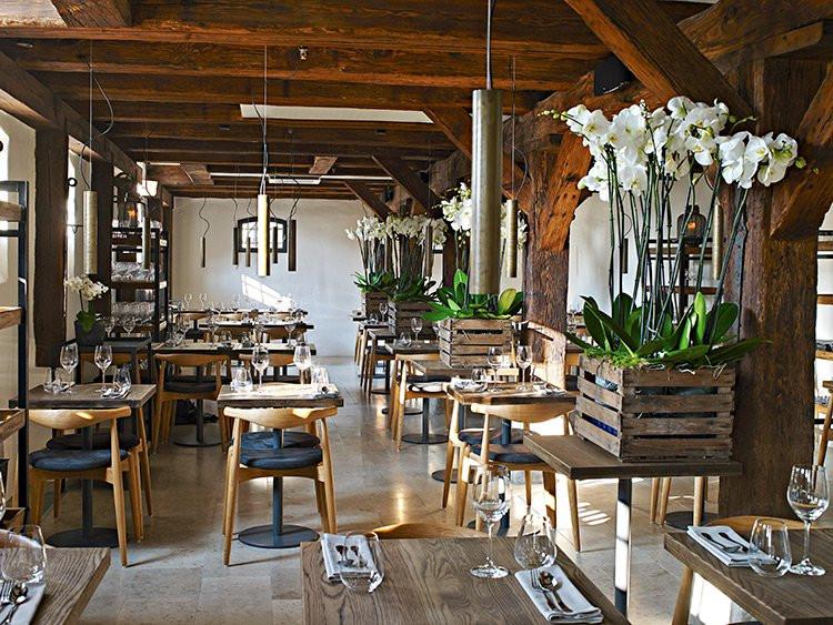 Dining room at SEA by Kiin Kiin restaurant