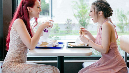 Lesbian Couple Wins Online Fame For Romantic Prom Pictures at Taco Bell
