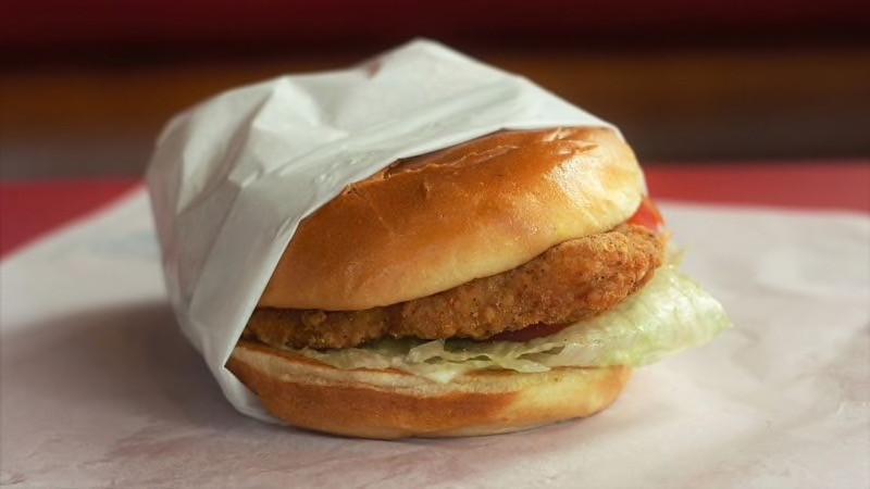 Big Chicken Fillet Sandwich at Hardee's