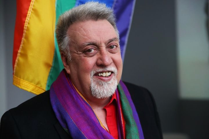 Rainbow flag creator Gilbert Baker