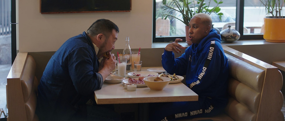 David Chang and Lena Waithe