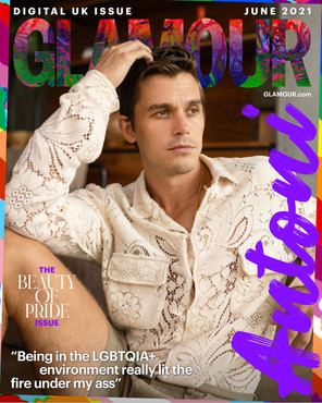 Watch Queer Eye's Chef Antoni Porowski's Pride Interview with 'Glamour'