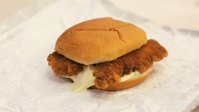 Double Crunch at KFC