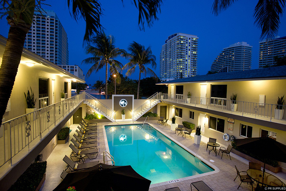 The pool at The Grand Resort and Spa Fort Lauderdale