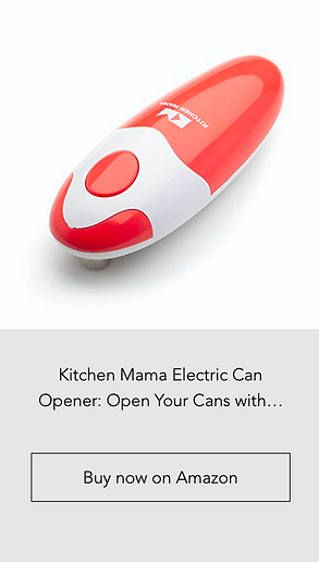Kitchen Mama Electric Can Opener
