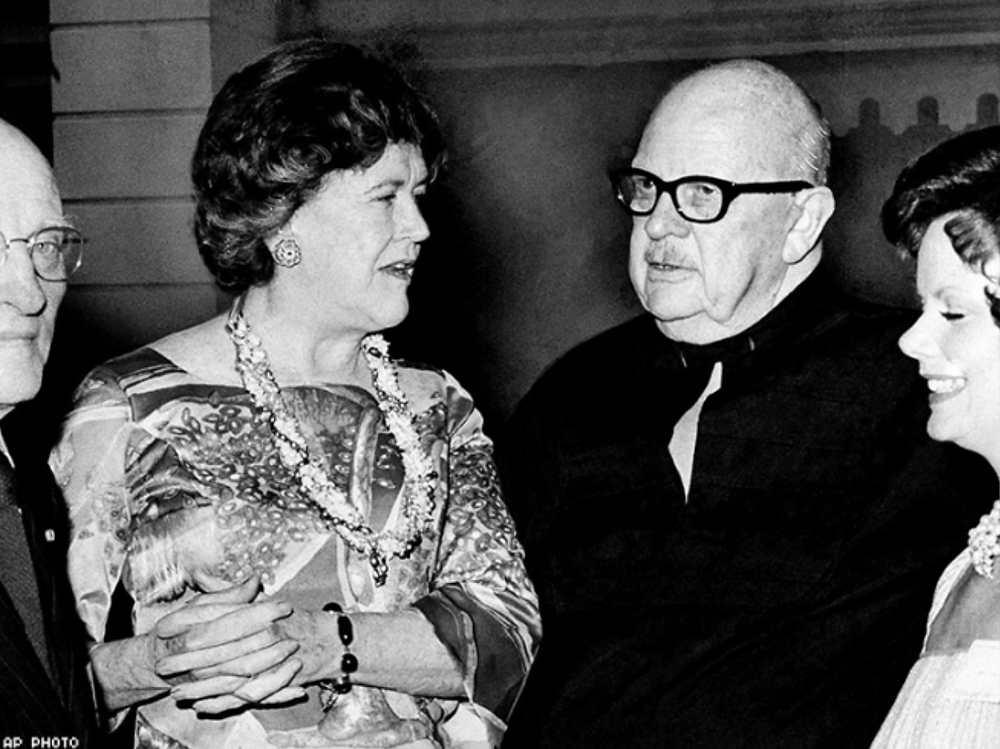 Julia Child and James Beard together
