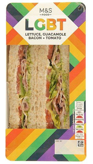 M&S Food Pride Sandwich