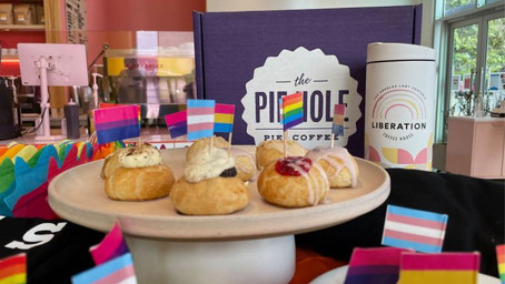 The Pie Hole Celebrates Pride 2021 with LA LGBT Center Liberation Coffee House