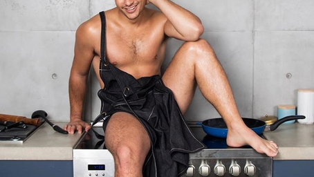 """""""The Gay Chef"""" Cookbook Author Crowned Mr. Gay Pride Australia"""