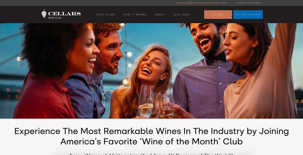 Cellars Wine Club and GayDining.com