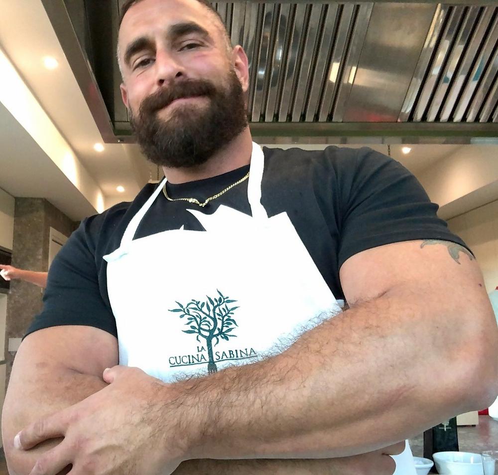 gay chef Adrian De Berardinis