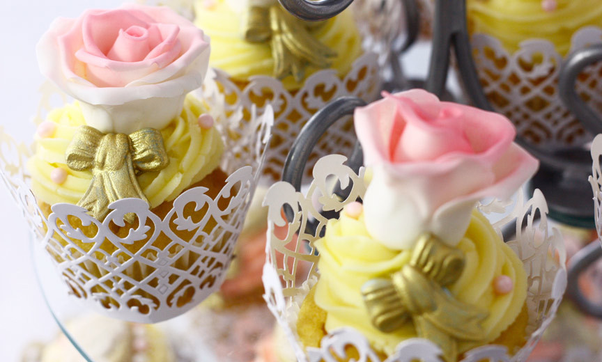 Rose Cupcake Photo by The Digital Marketing Collaboration