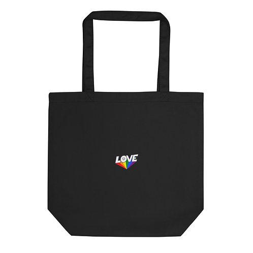 Pride Organic Cotton Tote bag black