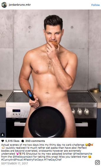 Jordan Bruno naked