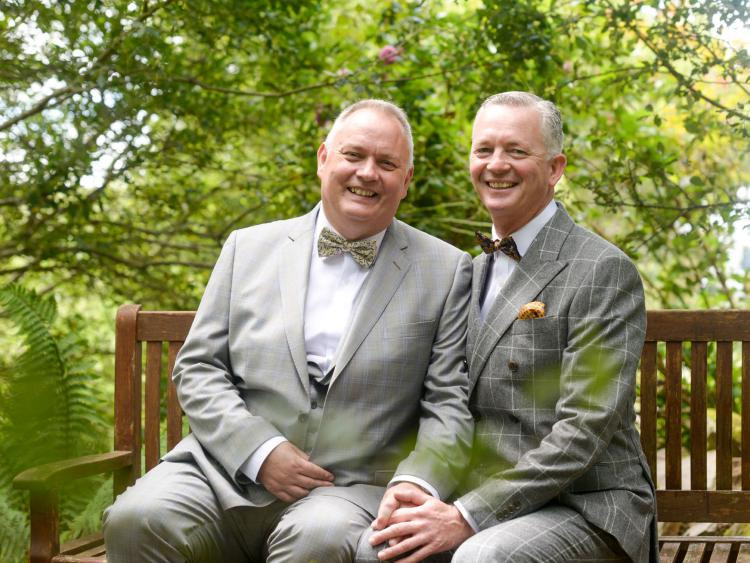 Chef Brian Danny Minnie and husband Paul Gallagher gay chef