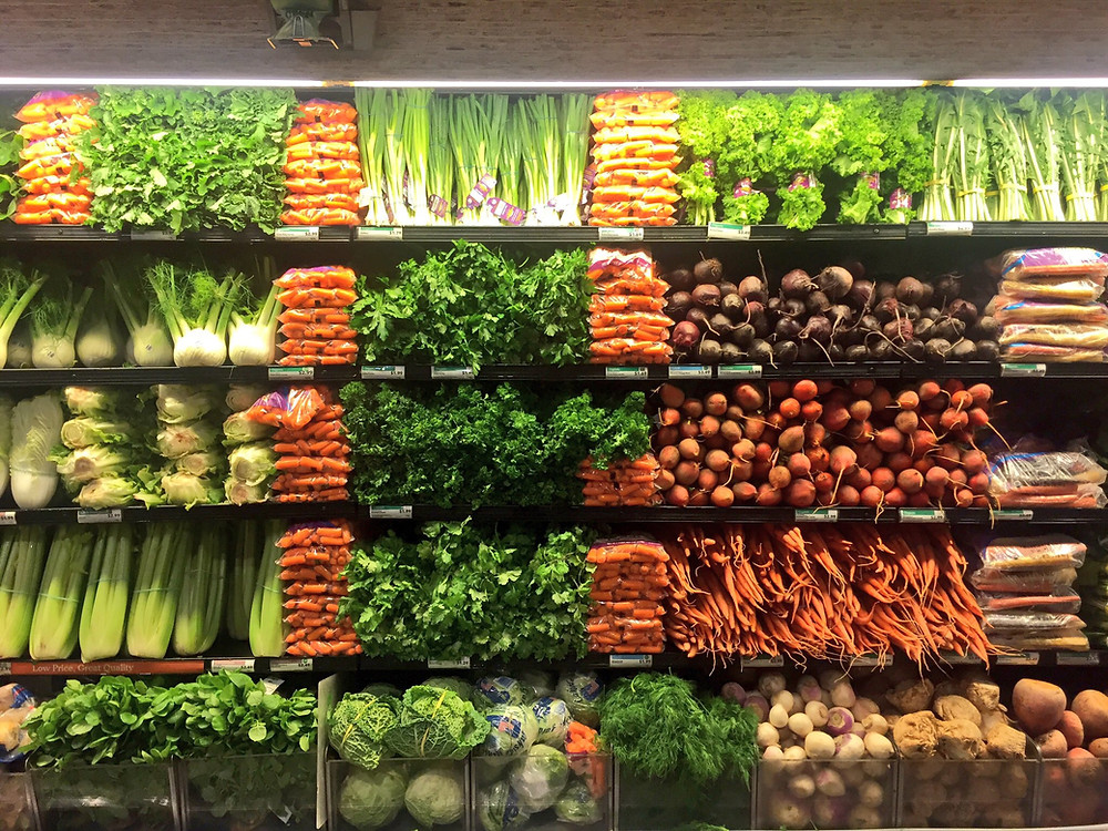 Whole Foods Columbus Circle produce section