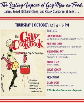 James Beard 'The Lasting Impact of Gay Men on Food'