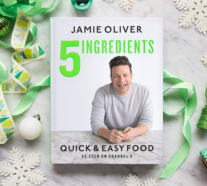 5 Ingredients Quick & Easy Food cookbook cover