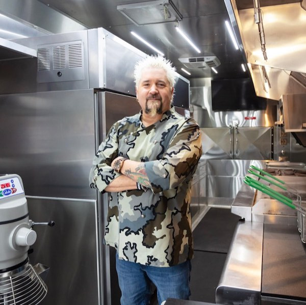 Guy Fieri at National Restaurant Association Eductional Foundation