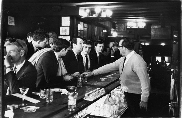 Historic photo of Julius's Bar in New York