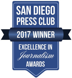 Congrats to San Diego LGBT Weekly on record 20 San Diego Press Club Excellence Journalism Awards