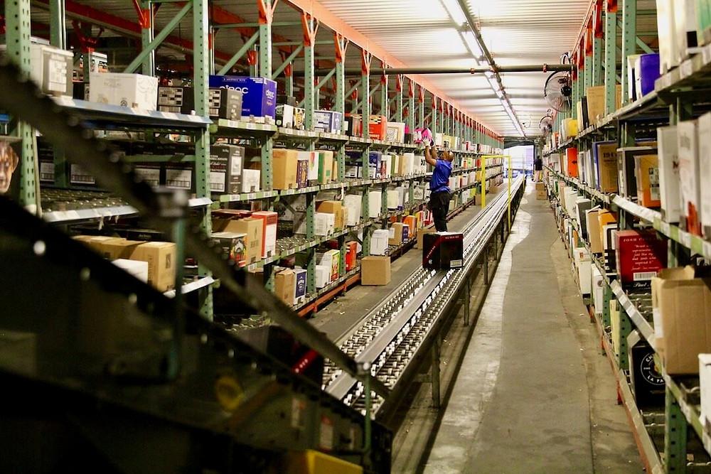 wine distribution center