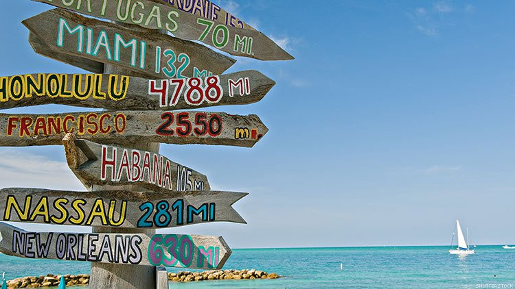 Key West directions