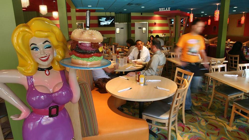 Hamburger Mary's in Downtown Orlando