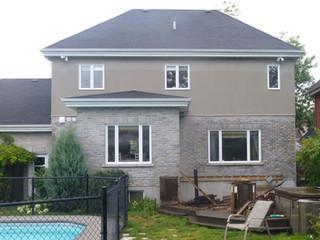 Cottage de Candiac avant l'agrandissement sur 3 étages conçus par Maisons DD