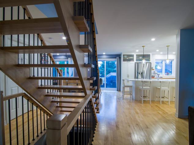 Ajout d'escalier pour 2ème étage