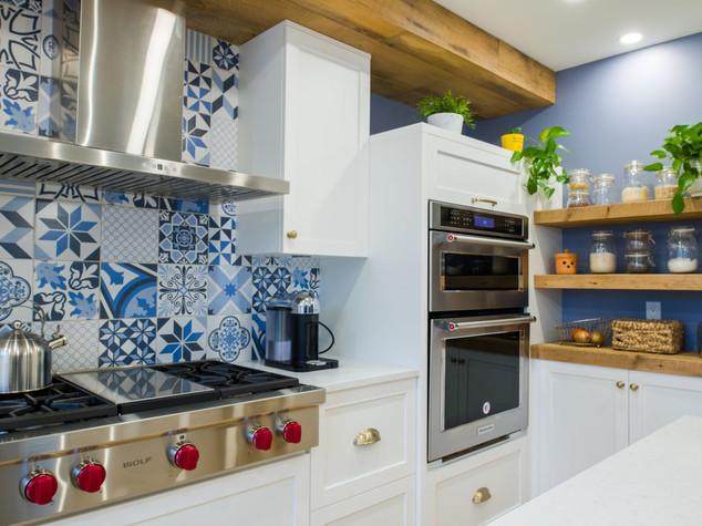 Nouvelle cuisine avec gazinière - Installation du gaz