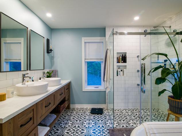 salle de bain des maîtres