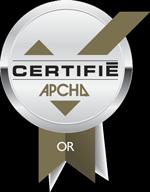 Maisons DD Certifie Or par l'APCHQ Provincial