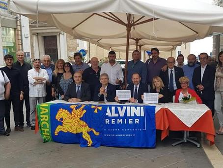 La Lega Marche presenta Pontida: sarà una giornata storica! Nella regione oltre 1000 tesserati!