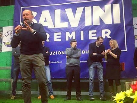 Alla BèrghemFrècc di Albino grande festa per la Lega con il nostro segretario Matteo Salvini
