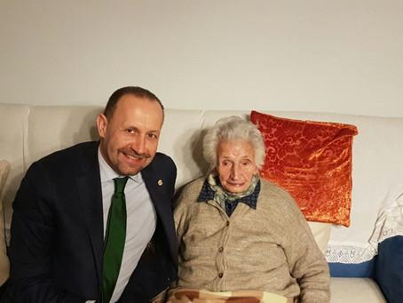 Nonna Peppina: promessa mantenuta. La casa è salva