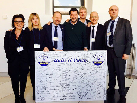 Lega Marche per Salvini Premier: Arrigoni eletto Segretario Regionale