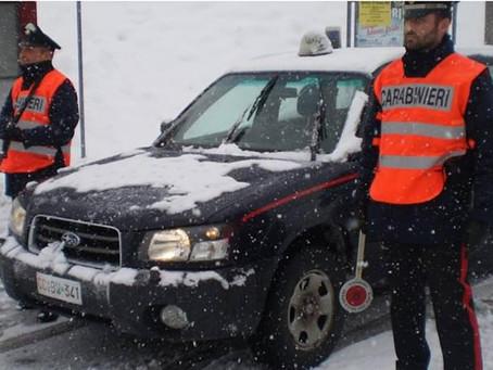 Tre malviventi albanesi catturati dai Carabinieri di Camerino. Un ringraziamento per l'operazione