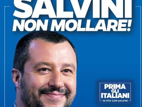 #SalviniNonMollare: vieni a firmare in 53 comuni delle Marche!